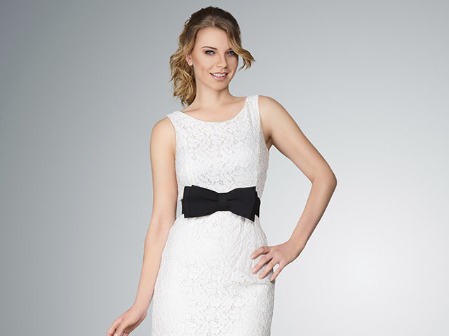 Vestidos blanco para mujer
