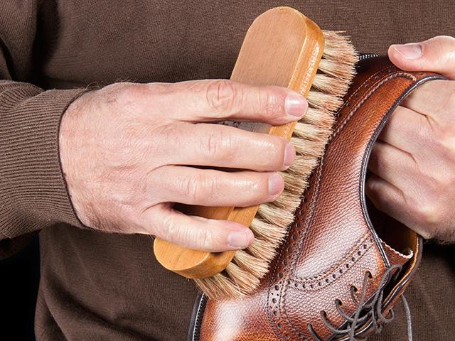 pasos b u00e1sicos para lustrar zapatos de piel