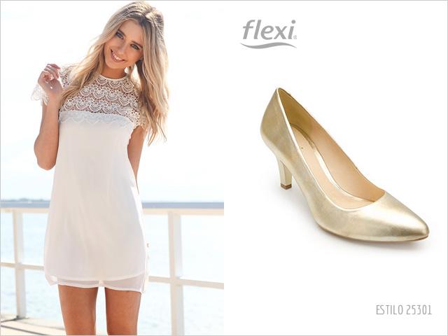 Tacones para vestido blanco