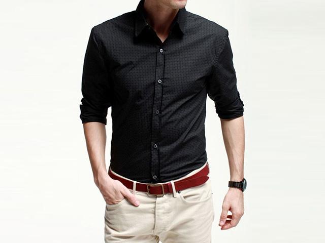 C mo arremangar tus camisas blog flexi - Como doblar una camisa ...