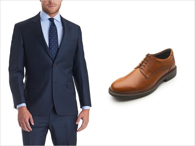 adc0160bd4 Los trajes color gris también son extremadamente versátiles como los navy.  Van con cualquier color. Una combinación muy buena es junto a un par de  zapatos ...