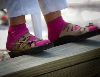 Regla de oro: nunca uses sandalias y calcetines