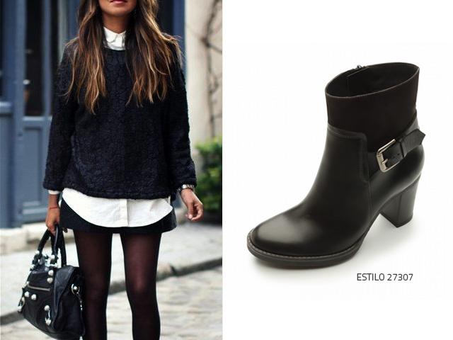 U00bfQuu00e9 zapatos usar con un suu00e9ter negro? - Blog Flexi