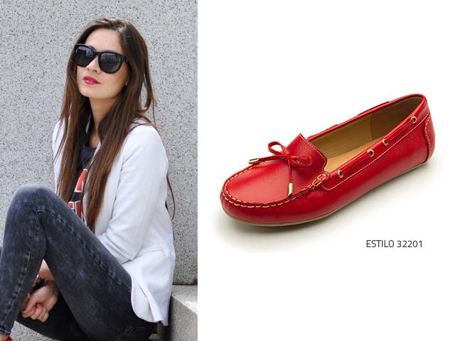 Zapatos rojos casual para mujer Y2WLHs5G