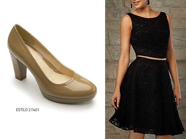 Vestidos para usar con zapatos bajos