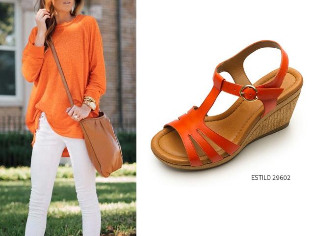 Naranja Color Cómo Usar Flexi Blog Zapatos tqzxn0F0Aa