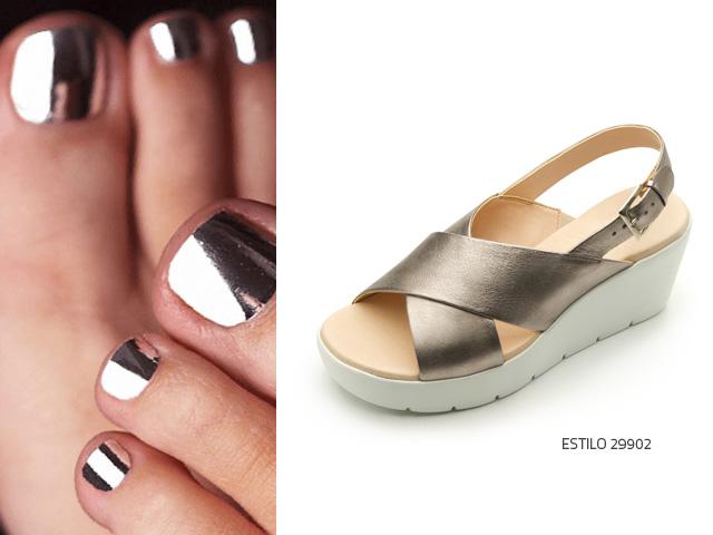 Cómo combinar el color de tus uñas y zapatos? - Blog Flexi