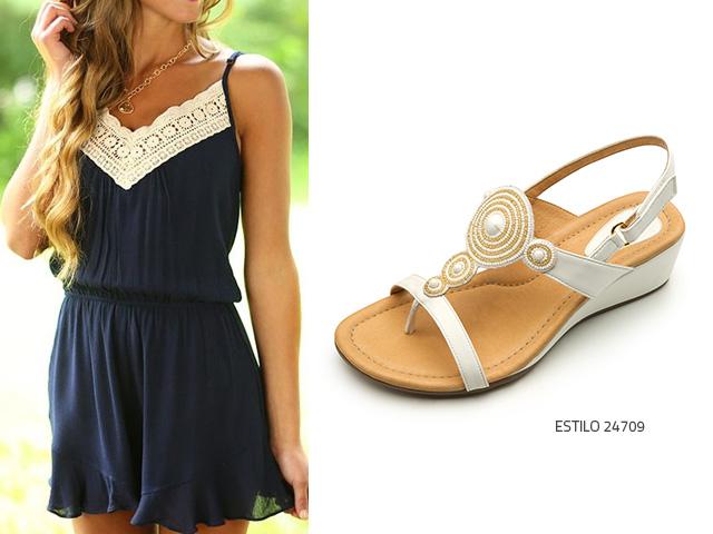 18aff1c2f Qué zapatos usar con un vestido azul  - Blog Flexi