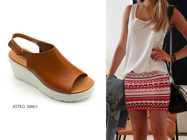 48ec385b036 3 ideas de oufits para tus sandalias de plataforma blanca - Blog Flexi
