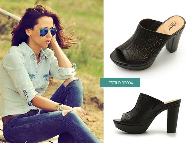 Zapatos negros Suecos para mujer N8TBQqlX
