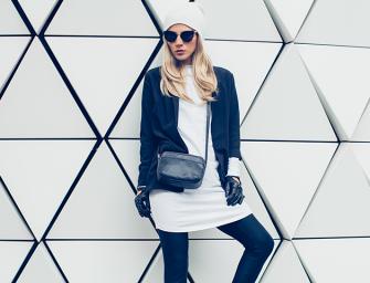 Cómo obtener el outfit perfecto en blanco y negro
