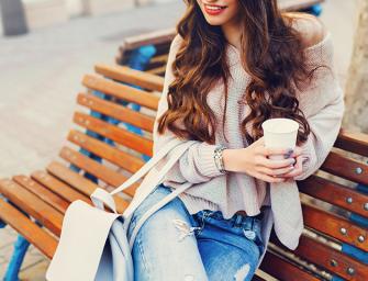 Ideas de Outfits para combinar tu suéter de punto y botines