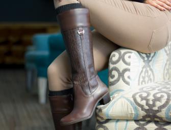 3 outfits de invierno para combinar tus botas altas