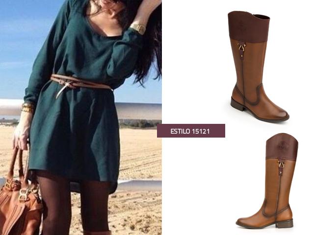 522cd45e67d 3 outfits de invierno para combinar tus botas altas - Blog Flexi