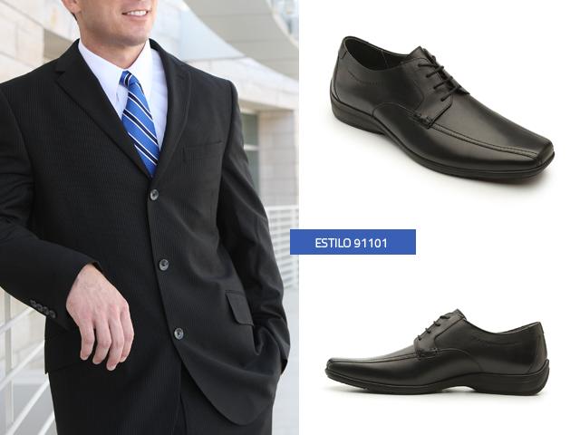zapatos-negros-con-traje-negro - Blog Flexi 0987ef4c137