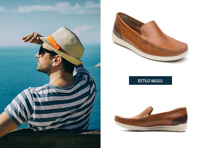 Zapatos de caballero ideales para llevar a la playa - Blog Flexi 0c2968a8601