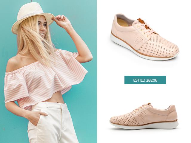 Rosa Flexi Zapatos Color De Piel Perdorados Blog Tipo Sneakers PkiuXZ
