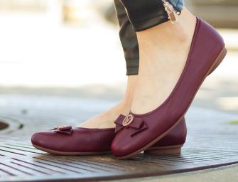 Top 5 zapatos de piso que no te pueden faltar en el armario
