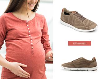 Quédate siempre a la moda con estos zapatos para embarazada