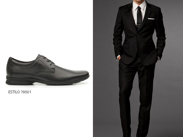 Traje negro outfit