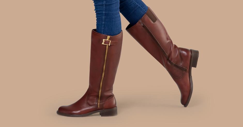 d79091f69fd 3 botas de dama con estilo hípico - Blog Flexi