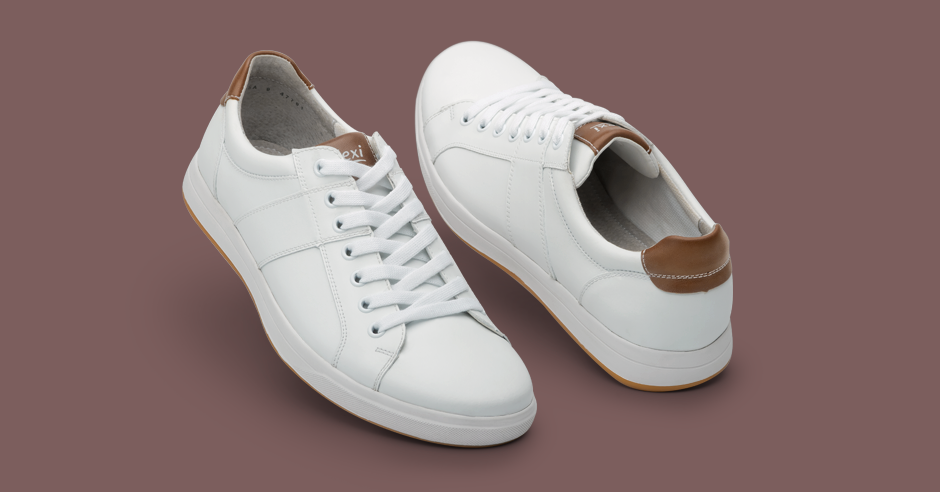 40136f6d 3 ideas para combinar tus sneakers blancos - Blog Flexi