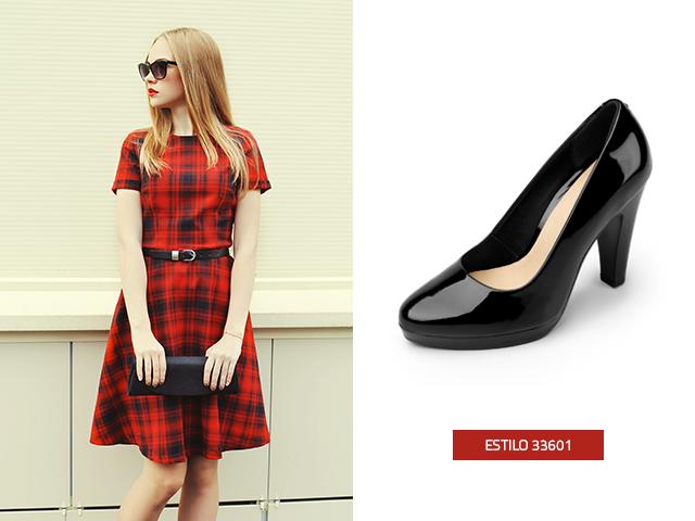 Zapatos para usar con vestidos cortos