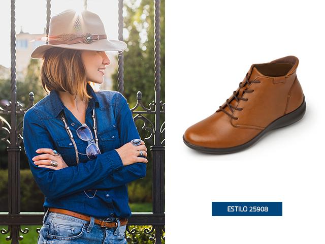 c4ec8176b6 3 outfits perfectos con zapatos cafés Flexi - Blog Flexi