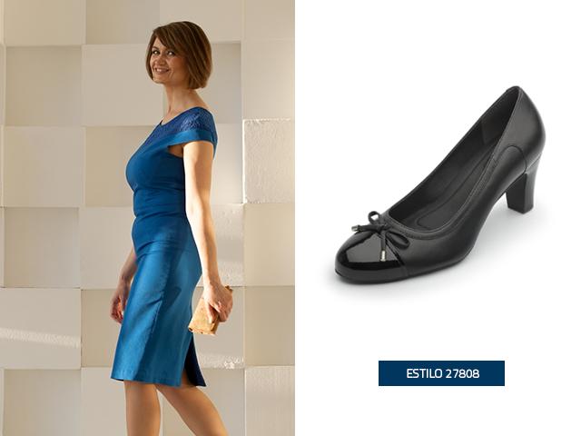 Zapatos para combinar con vestido azul claro