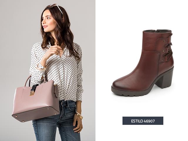 U00bfCu00f3mo combinar botas cafu00e9s con diferentes outfits? - Blog Flexi