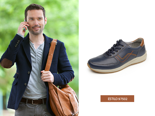 b2939e9397 ... son más informales y los que están hechos de piel y brindan un toque  más casual. Te recomendamos incluir en catálogo personal de zapatos de moda  hombre ...