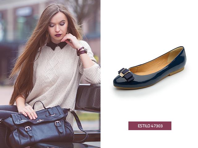Los zapatos de charol son perfectos para llenar de estilo tu imagen