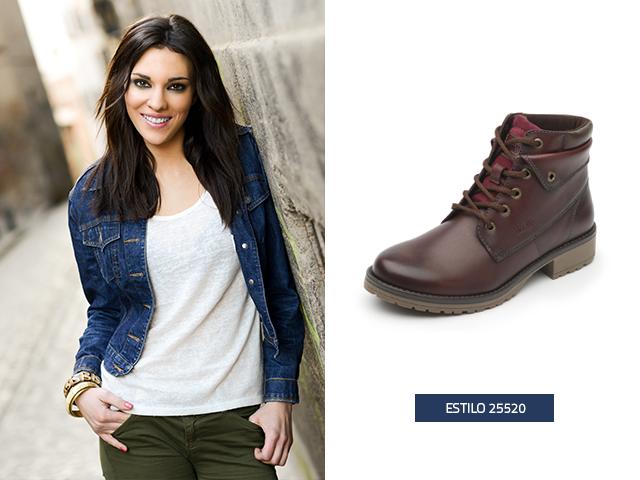 Las botas en conjunto con unos jeans son la combinación perfecta para un estilo casual
