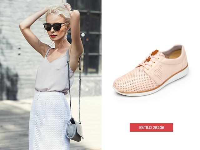 El calzado rosa dará a tu imagen el toque femenino que siempre has deseado