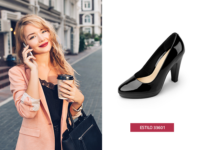 El charol sin duda les da a las zapatillas un toque de elegancia y vanguardia