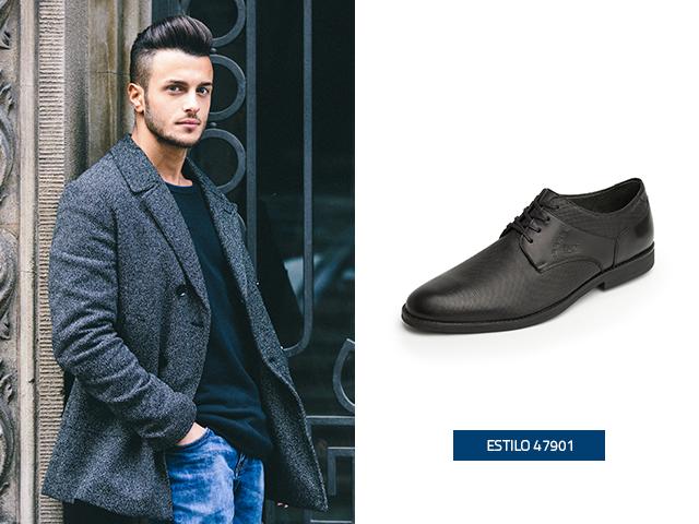El estilo Derby de este calzado va de maravilla con la moda para hombres.