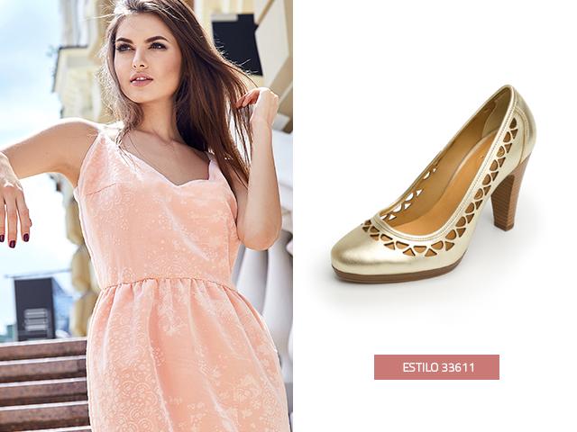 El acabado metalizado de estas zapatillas va a brindarte mucha elegancia y glamour.