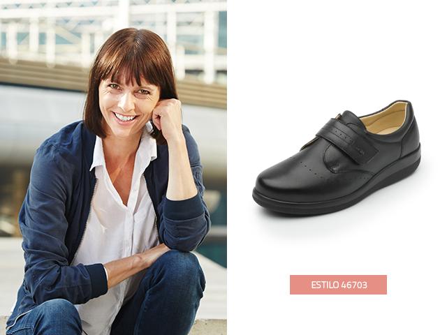 Este modelo de zapatos para diabéticos Flexi es suave y ligero para asegurar tu bienestar.