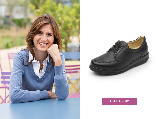 Los zapatos para diabéticos Flexi están diseñados especialmente para el cuidado de tus pies.