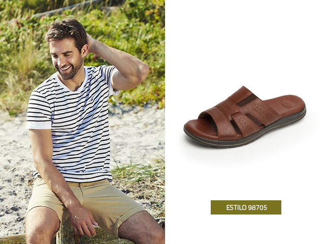 Para esta primavera verano las sandalias para hombre son una alternativa ideal para atuendos con estilo y tendencia