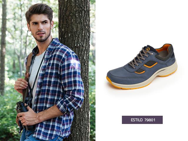 El diseño y confección de estos zapatos tenis de moda te permiten hacer diversas actividades al aire libre con toda la seguridad y confort