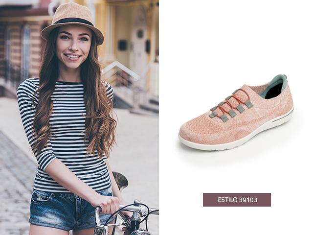 45bcd109104 Este modelo de sneakers de dama cuida cada detalle para que siempre te  sientas cómoda y