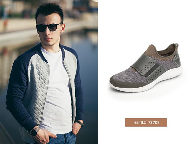 Estos zapatos tenis de moda tienen un elástico frontal para un mayor ajuste y comodidad