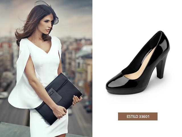 El charol puede ser un clásico en las zapatillas de moda negras, para que tu look sea clásico y sofisticado