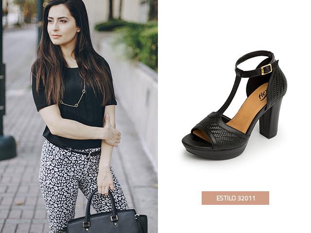 Las zapatillas de moda negras con tejidos, le otorgan mucha presencia a tu estilo y andar