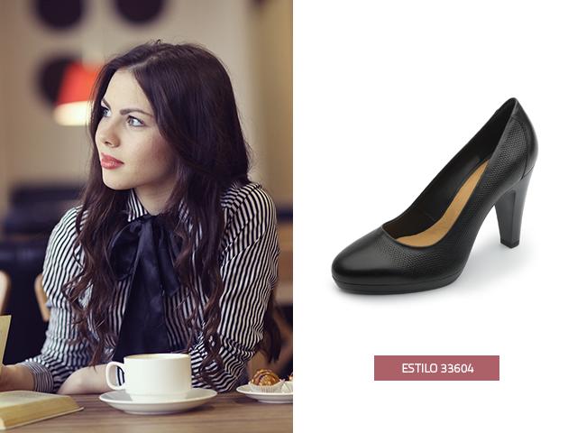 Disfruta de estas zapatillas de moda negras, la combinación de sus texturas es lo más top en tendencia