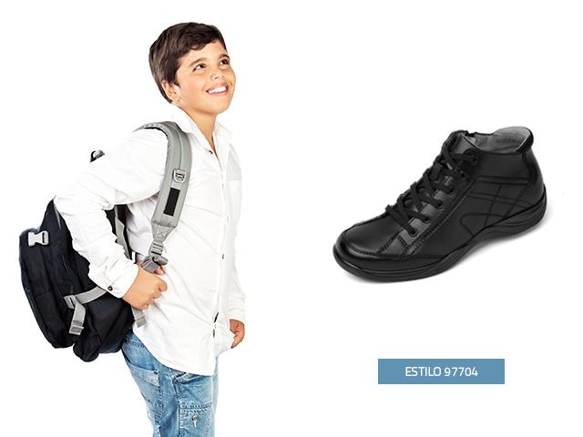 Esta temporada encontrarás en Flexi lo último en moda en zapatos para niños para el colegio, este zapato tipo bota lo puede lucir tu pequeño en cualquier época del año, son cómodos y seguros