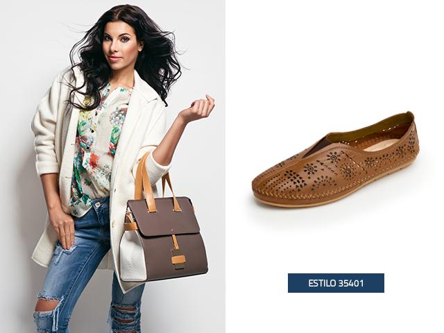 Estos zapatos de mujer de piso estilo choclo, son cómodos y ligeros puedes llevarlos contigo en un día de descanso con la familia