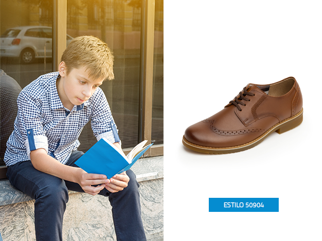 Los zapatos para niños tipo bostoniano los puedes encontrar en las tienda Flexi esta temporada, es un modelo moderno y distinguido para ocasiones especiales
