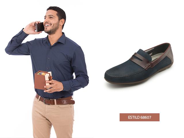 Los zapatos estilo mocasín son ideales para lucir un estilo casual y moderno, en Flexi encontrarás zapatos de hombre para traje para lucir en cualquier ocasión